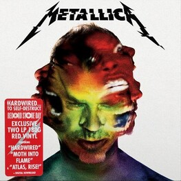METALLICA - Hardwired... To Self-destruct (Limited Rsd Black Friday 2016 Exclusive Coloured Vinyl) (2LP)