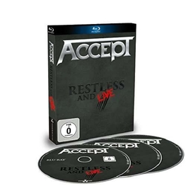 ACCEPT - Restless & Live: Blind Rage Live In Europe 2015 (2CD + Blu-ray)