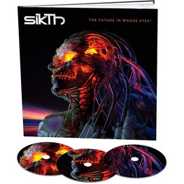 SIKTH - The Future In Whose Eyes? (Deluxe Earbook Edition) (3CD)