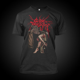 CATTLE DECAPITATION - ANTHROPOCENE EXTINCTION FLESH PEDDLER T-SHIRT