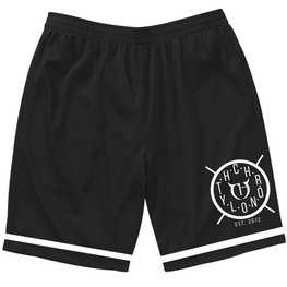 CHRONOLYTH CLOCKWORK MOSH SHORTS - BLACK