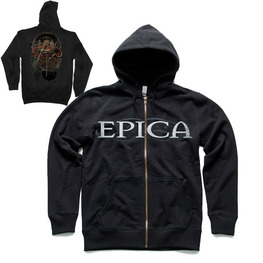 EPICA HOODED SWEATSHIRT - BLACK