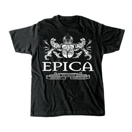 "EPICA LIONS ""COAT OF ARMS"" T-SHIRT - BLACK"