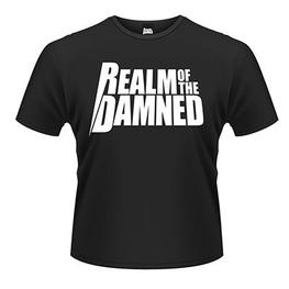 REALM OF THE DAMNED LOGO T-SHIRT