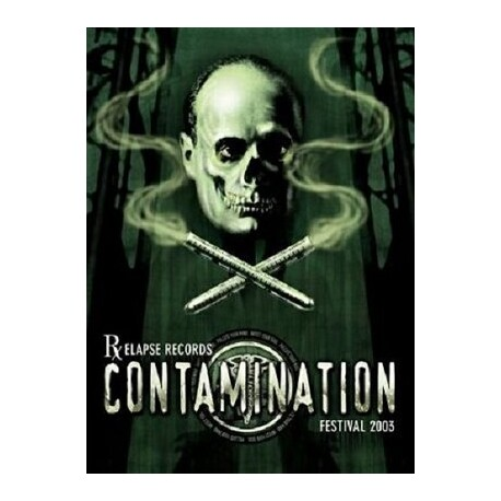 VARIOUS ARTISTS - Relapse Contamination Festival 2003 (2 DVD)