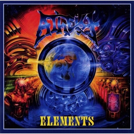 ATHEIST - Elements  Re-issue (CD)