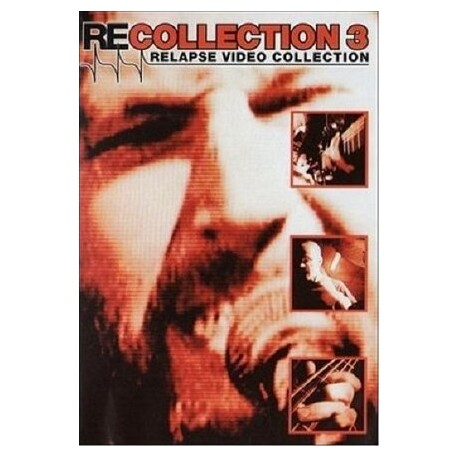 VARIOUS ARTISTS - Recollection 3 - Relapse Video Collection (DVD)