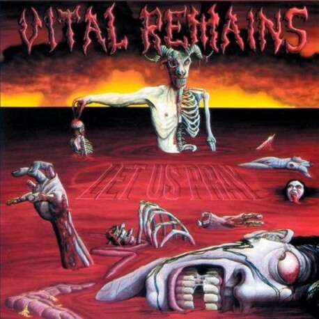 VITAL REMAINS - Let Us Pray (CD)