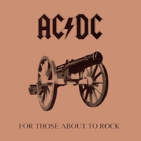 AC/DC - For Those About To Rock(We Salute You) (Re-issue) (CD)