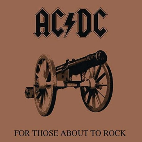 AC/DC - For Those About To Rock We Salute You (Vinyl) (LP)