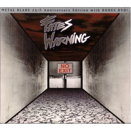 FATES WARNING - No Exit (25th Anniversary Edition) (CD+DVD)