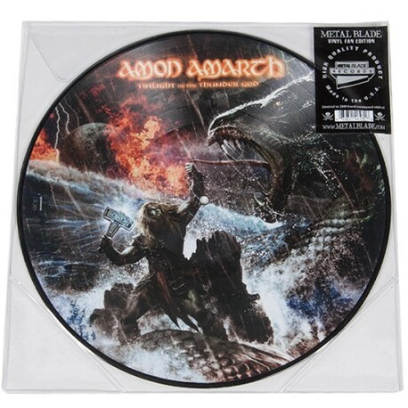 AMON AMARTH - Twilight Of The Thundergod (Picture Disc Vinyl) (LP)