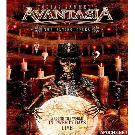 AVANTASIA - Flying Opera-around The World In 20 Days (4CD)