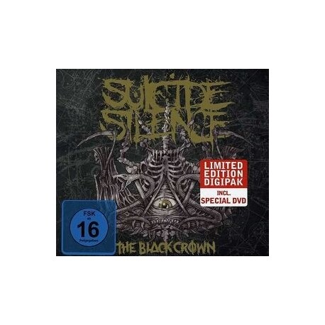 SUICIDE SILENCE - Black Crown, The (Limited Edition) (CD+DVD)
