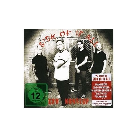 SICK OF IT ALL - Nonstop (Re-recording) (Ltd Ed) (CD+DVD)