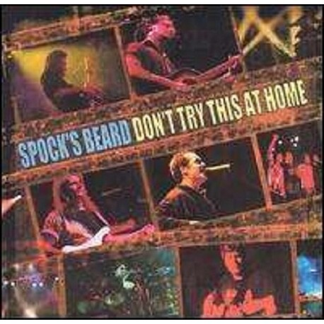 SPOCK'S BEARD - Don't Try This At Home: Live (CD)