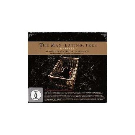 THE MAN-EATING TREE - Harvest (Ltd Ed) (CD+DVD)