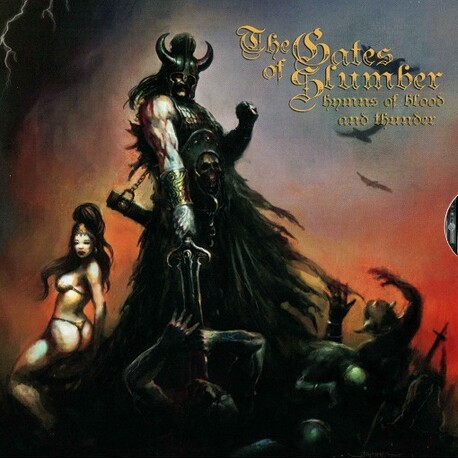 THE GATES OF SLUMBER - Hymns Of Blood & Thunder (CD)