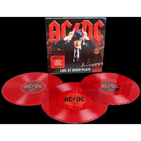 AC/DC - Live At River Plate (Red Vinyl) (3LP)