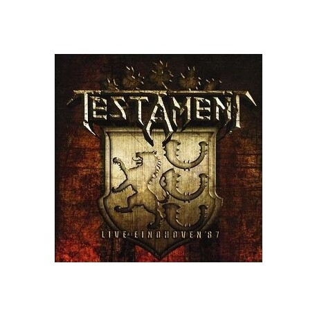 TESTAMENT - Live At Eindhoven '87 (CD)