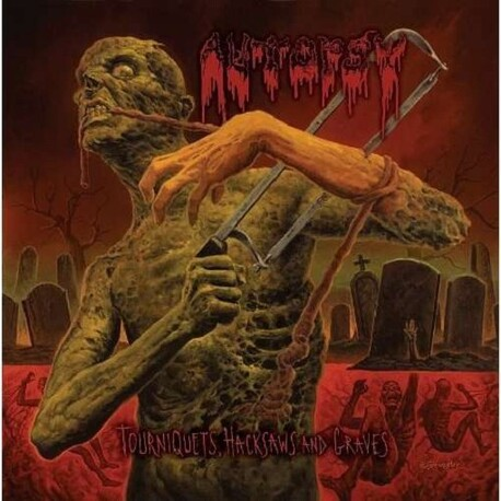AUTOPSY - Tourniquets, Hacksaws And Graves (Regular Edition Jewel Case) (CD)