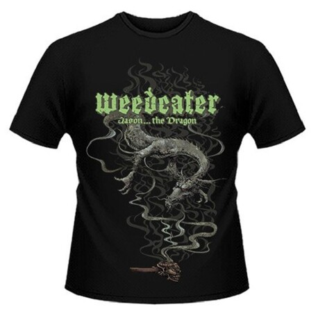WEEDEATER - Jason... The Dragon Black T-shirt - Large (T-Shirt)