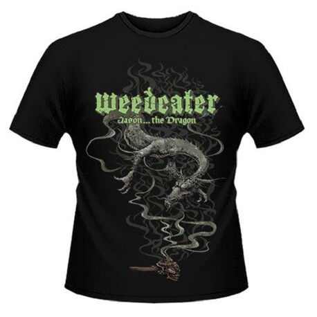 WEEDEATER - Jason... The Dragon Black T-shirt - Xx-large (T-Shirt)