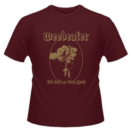 WEEDEATER - God Luck & Good Speed Maroon T-shirt - Xx-large (T-Shirt)
