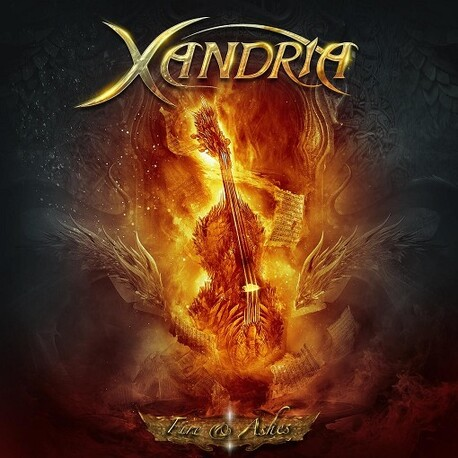 XANDRIA - Fire & Ashes (CD)