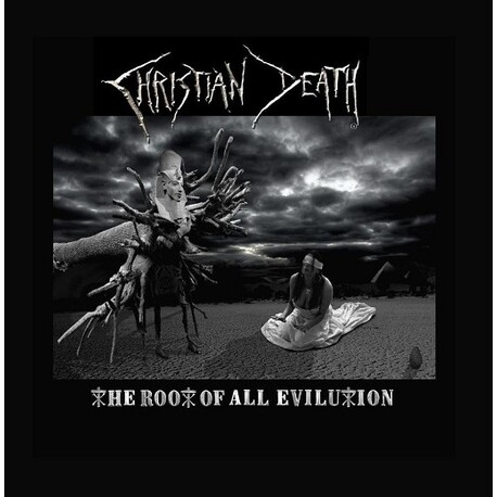 CHRISTIAN DEATH - Root Of All Evilution (Silver Vinyl) (LP)