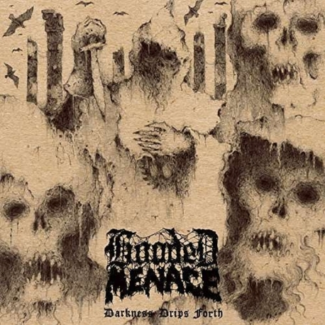 HOODED MENACE - Darkness Drips Forth (LP)