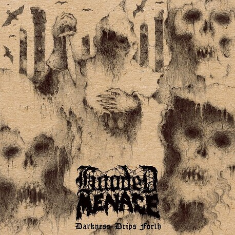 HOODED MENACE - Darkness Drips Forth (CD)