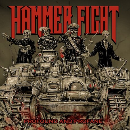 HAMMER FIGHT - Profound & Profane (CD)