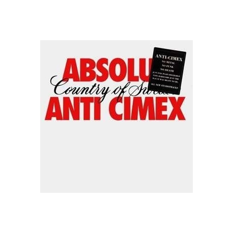 ANTI CIMEX - Absolut Country Of Swe (Ger) (2LP)