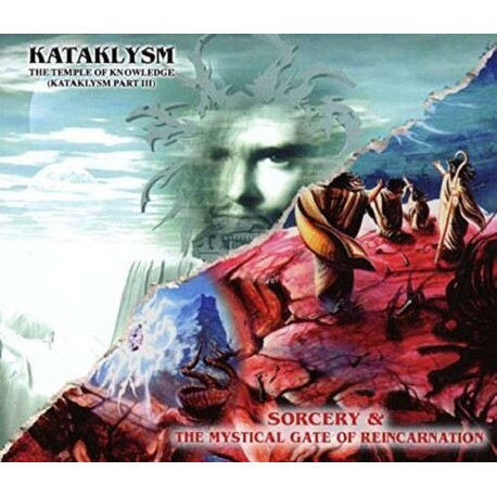 KATAKLYSM - Sorcery + The Mystical Gate Of Reincarnation / Temple Of Knowledge + The Vortex Of Resurrection (2CD)
