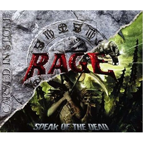 RAGE - Carved In Stone /speak Of The Dead (2cd) (2CD)