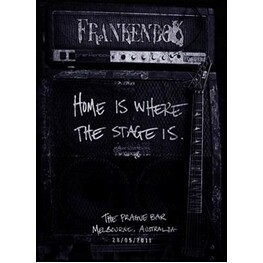FRANKENBOK - Home Is Where The Stage Is: The Prague Bar, Melbourne 28/05/2011 (DVD)