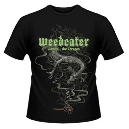 WEEDEATER - Jason... The Dragon Black T-shirt - Small (T-Shirt)