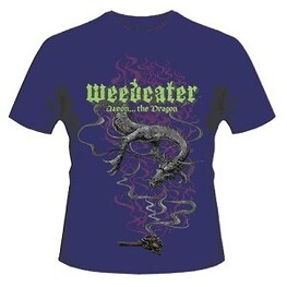 WEEDEATER - Jason... The Dragon Purple T-shirt - X-large (T-Shirt)