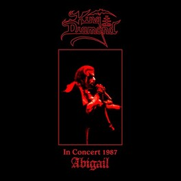 KING DIAMOND - In Concert 1987: Abigail (Limited Red Vinyl) (LP)