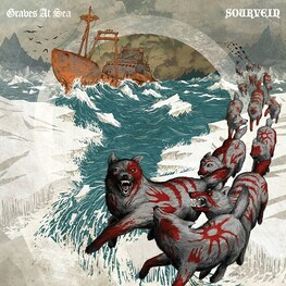 GRAVES AT SEA, SOURVEIN - Graves At Sea / Sourvein Split (Vinyl) (2LP)