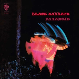 BLACK SABBATH - Paranoid (Opaque Blue Coloured Vinyl - Limited 180 Gram) (LP)