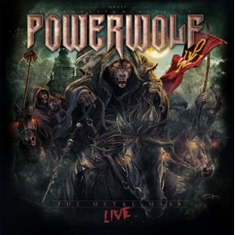 POWERWOLF - Metal Mass Live: 2 Blu-ray + Cd Digibook (CD + Blu-Ray)