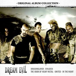 DREAM EVIL - Original Album Collection: Discovering Dream Evil (Ltd. 5cd Edition) (5CD)