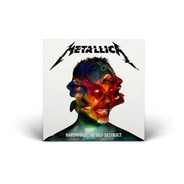 METALLICA - Hardwired... To Self-destruct: Deluxe Box Set (Limited Coloured Vinyl) (3LP + CD)