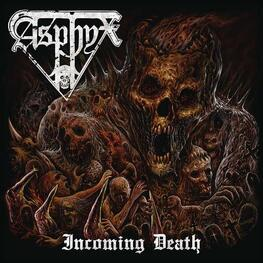 ASPHYX - Incoming Death (Blk) (Colv) (Gate) (Post) (LP)