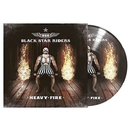 BLACK STAR RIDERS - Heavy Fire (2lp Pic Disc) (2LP)