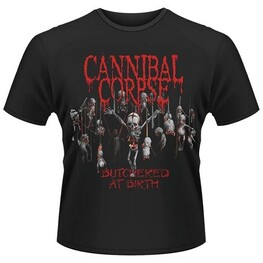 CANNIBAL CORPSE - Butchered At Birth (2015) (T-shirt Unisex: Large) (T-Shirt)