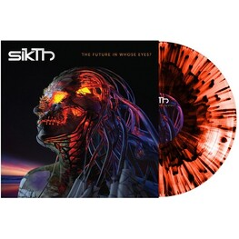 SIKTH - The Future In Whose Eyes? (Limited Orange Splatter Coloured Vinyl + Mp3 Download) (LP)