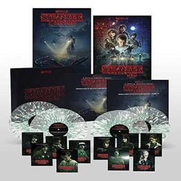 KYLE DIXON & MICHAEL STEIN, SOUNDTRACK - Stranger Things: A Netflix Original Series Season 1 Deluxe Box Set (Limited Coloured Vinyl) (4LP)